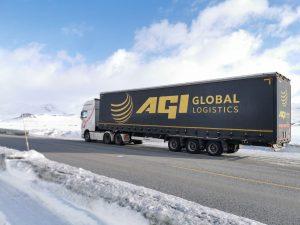 Agi Global logistics lorry Norway 2
